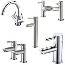 Choice Of Modern Chrome Bathroom Bath Filler Shower Basin Mixers Hot & Cold Taps