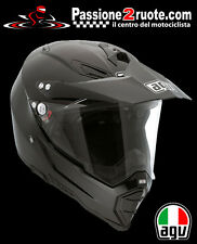 Casco enduro off road motard atv quad moto Agv Ax8 Ax-8 Dual Evo Nero