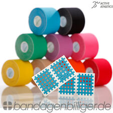 6 Rollen Kinesiologie Tape | Kinesiology Sport Tape | Physiotape 5 m x 5,0 cm