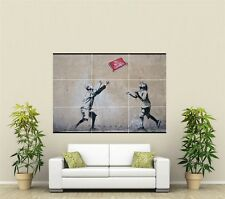 Banksy 'No Ball Games'  XL Section Wall Art Poster A122