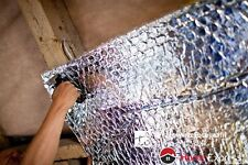 1.24m WIDE U-FOIL SINGLE ALUMINIUM BUBBLE INSULATION FOIL (1BD/A-1) & ALU TAPE