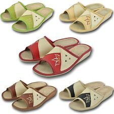 Ladies, Women`s Leather Slippers 3, 4, 5, 6.5, 7, 8 36, 37, 38, 39, 40 41