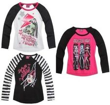 Monster High ~ Langarmshirt ~ T Shirt ~ Shirt ~ Pulli ~ Gr.128~140~152~164 NEU*