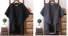 Fashion Women Ladies Wool Coat Cloak Long Cape/Shawl poncho wrap scarves coat