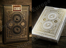 ARTISAN PREMIUM PLAYING CARDS BLACK WHITE THEORY11 MAGIC TRICKS POKER UK STOCK