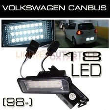 VW GOLF MK4 MK5 MK6 HIGH POWER LED NUMBER LICENSE PLATE LIGHT LAMP MODULES OEM