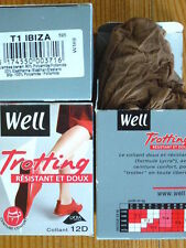 COLLANT WELL TROTTING RESISTANT ET DOUX TAILLE 1 / IBIZA OU NOISETTE