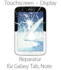 Samsung Galaxy Tab Note Reparatur Touchscreen Glas LCD Display defekt Spider App