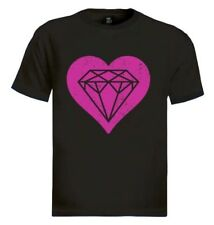 DIAMOND HEART T-Shirt YOLO Cali hipster SWAG TUMBLER -FRESH Dripping Gift
