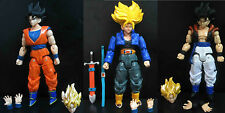 Dragon Ball Z DBZ Action Goku 13cm TRUNKS Vegeto cell testa mani scambiabili