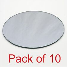 Round Shape Acrylic Mirror Pack of 10 for BEDROOM, LIVING ROOM,GARDEN, BATHROOM
