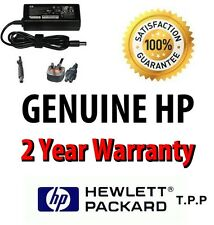 GENUINE ORIGINAL HP Laptop Notebook AC Adapter Power Charger + UK Mains Lead