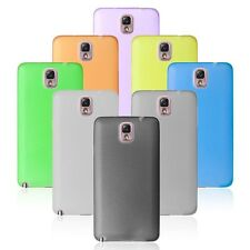 0.3mm Thin Slim Frosted Transparent Clear Cover Case Skin for SAMSUNG NOTE III 3