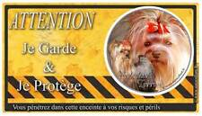 Plaque De Garde Yorkshire-Terrier