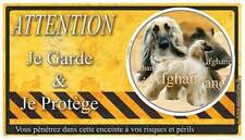 Plaque De Garde Afghane-Blond