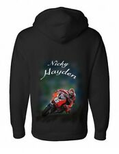 Airbrushed Nicky Hayden Hoody Kentucky Kid Motorcycle Racing kids to Adult Sizes
