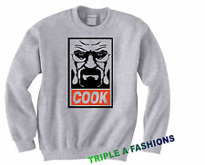 COOK GREY Sweatshirt Heisenberg / bad walter white MICKEY HAND/ HOMIES OBEY