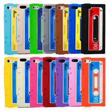 Case for Apple iPhone 5 / 5S Retro Tape Cassette Style Cover + Screen Protector