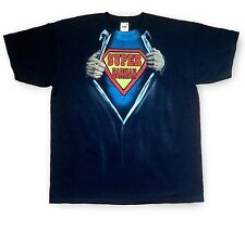 Airbrushed Super Barman T-Shirt Super Hero Bartender Size S to XXXL