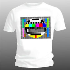 camiseta divertida TV carta de ajuste solo blanco tallas S hasta XXL (hasta 5XL