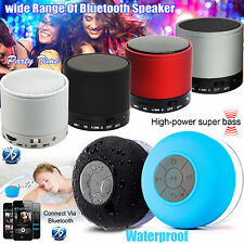 Bluetooth Mini Wireless Speaker Portable for Iphone Ipad Samsung Mp3 Mic Bass UK