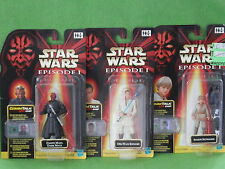 STAR WARS EPISODE 1 ACTION FIGURES CARDED MANY TO CHOOSE FROM