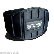"""SCITEC NUTRITION """"FITNESS"""" WEIGHTLIFTING BELT POWERLIFTING CROSS TRAINING"""