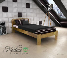 New Wooden Solid Pine 3ft Single Bed Frame & Slats ***Various Colours - F4