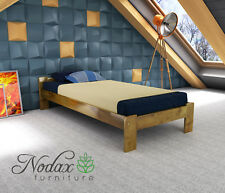 New Solid Wooden Pine 3ft Single Size Bed Frame & Slats **Various Colours** - F5