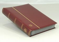 Lighthouse Leatherette Stockbook (64 Black Pgs) Red - over 30% OFF LSP4/32