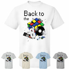 Back to the 80's Zauberwürfel Schallplatte Retro Fun T-Shirt / Shirt S - 5XL