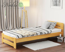 Wooden Pine 3ft Single Bed Frame & Slats/**with choice of Underbed Drawer