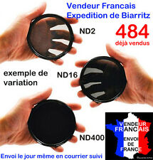 FILTRE ND VARIABLE EN CONTINU ND2 -> ND400 49,52,58,62,67,72,77 MM NIKON CANON
