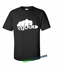 SLADE FIST black T shirt DOPE / MICKEY HAND/HOMIES OBEY/ rock band