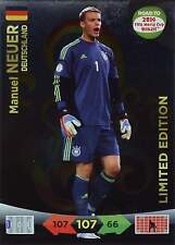 PANINI ROAD TO FIFA WM BRAZIL 2014 - LIMITED EDITION - NEUER - GÖTZE - PIRLO