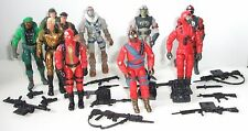 2002 Gi joe action force figures cobra Snake eyes Viper Storm Shadow Firefly