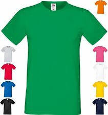 FRUIT OF THE LOOM HERREN T-Shirt Sofspun®  kurzarm Rundhals-S M L XL XXL 3XL(2)