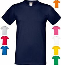 FRUIT OF THE LOOM HERREN T-Shirt Sofspun®  kurzarm Rundhals-S M L XL XXL 3XL(0)