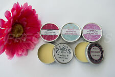 PERSONALISED ORGANIC LIP BALM **9 FLAVOURS* HEN / SLEEPOVER / PARTY BAG FILLER