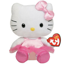 Ty Hello Kitty Bailarina Tutú Falda Felpa Animal De Peluche Animal Suave