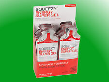 (40,15€/kg)    Squeezy Energy Super Gel Box - 12 Gels a 33g