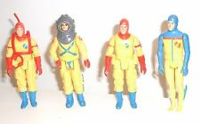 1982 action gi joe figures Palitoy Q Force Aqua Trooper Sonar Officer Defender