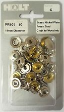 HOLT Marine Prepack Replacement Brass Nickle Plated Press Stud Kit (PPG)