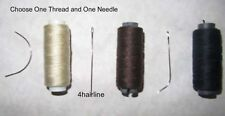 Choose 1 Hair Weaving Sewing Thread for Hair Extensions and One Sewing Needle