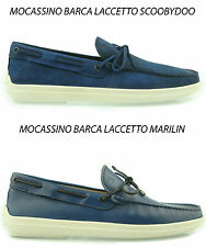 Tod's mocassino BARCA uomo SCARPE shoes loafers BOAT herrenschuhe man mokassin P