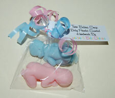 Beautiful TWIN BABIES Soap Baby Shower Gift Prize Favour Boy Girl Neutral