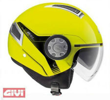 Casco Givi air jet demi moto scooter h111 h11.1 giallo fluo yellow helm helmet