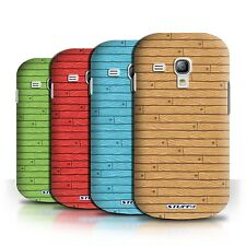 STUFF4 Phone Case/Cover for Samsung Galaxy S3 Mini /Wooden/Wood Effect Pattern
