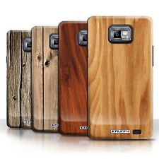 STUFF4 Phone Case/Cover for Samsung Galaxy S2/SII /Wood Grain Effect/Pattern