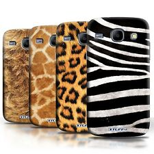 STUFF4 Phone Case/Back Cover for Samsung Galaxy Core /Animal Fur Effect/Pattern